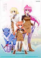"""Mahô shôjo lyrical Nanoha"" - Japanese DVD movie cover (xs thumbnail)"