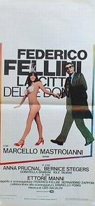 La città delle donne - Italian Movie Poster (xs thumbnail)