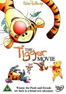 The Tigger Movie - British DVD movie cover (xs thumbnail)