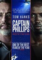 Captain Phillips - DVD cover (xs thumbnail)
