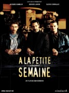 À la petite semaine - Belgian Movie Poster (xs thumbnail)