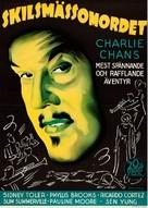 Charlie Chan in Reno - Swedish Movie Poster (xs thumbnail)
