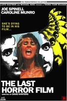 The Last Horror Film - French Movie Poster (xs thumbnail)