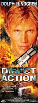 Direct Action - French Movie Poster (xs thumbnail)