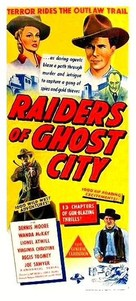 Raiders of Ghost City - Australian Movie Poster (xs thumbnail)