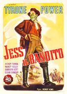 Jesse James - Italian Movie Poster (xs thumbnail)