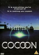 Cocoon - British DVD cover (xs thumbnail)