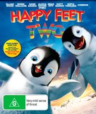 Happy Feet Two - Australian Blu-Ray cover (xs thumbnail)