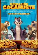 The Nut Job - Spanish Movie Poster (xs thumbnail)