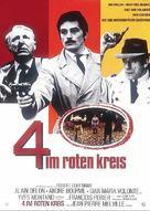 Le cercle rouge - German Movie Poster (xs thumbnail)