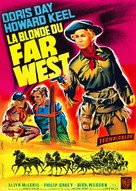 Calamity Jane - French Movie Poster (xs thumbnail)