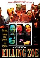 Killing Zoe - Spanish Movie Poster (xs thumbnail)