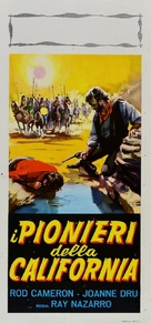 Southwest Passage - Italian Movie Poster (xs thumbnail)