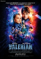 Valerian and the City of a Thousand Planets - Singaporean Movie Poster (xs thumbnail)