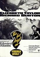 Who's Afraid of Virginia Woolf? - German Movie Poster (xs thumbnail)