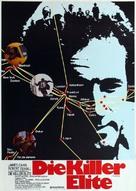 The Killer Elite - German Movie Poster (xs thumbnail)