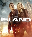 The Island - Blu-Ray movie cover (xs thumbnail)