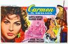 Carmen la de Ronda - Belgian Movie Poster (xs thumbnail)