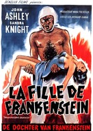 Frankenstein's Daughter - Belgian Movie Poster (xs thumbnail)