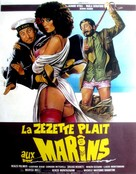 La dottoressa preferisce i marinai - French Movie Poster (xs thumbnail)