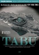 Tabu - Portuguese DVD cover (xs thumbnail)