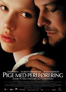 Girl with a Pearl Earring - Danish Movie Poster (xs thumbnail)
