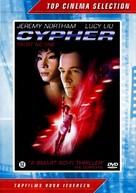 Cypher - Dutch DVD cover (xs thumbnail)