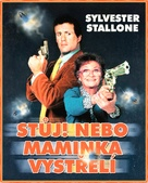 Stop Or My Mom Will Shoot - Czech DVD movie cover (xs thumbnail)