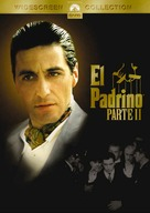 The Godfather: Part II - Argentinian DVD cover (xs thumbnail)