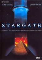 Stargate - German DVD cover (xs thumbnail)