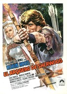 L'arciere di fuoco - Spanish Movie Poster (xs thumbnail)