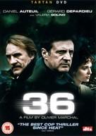 36 Quai des Orfèvres - British DVD movie cover (xs thumbnail)