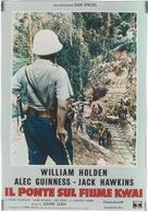 The Bridge on the River Kwai - Italian Movie Poster (xs thumbnail)