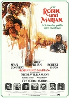 Robin and Marian - German Movie Poster (xs thumbnail)