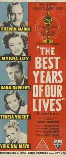 The Best Years of Our Lives - Australian Movie Poster (xs thumbnail)
