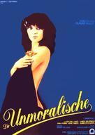 Immorale, L' - German Movie Poster (xs thumbnail)