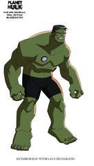 Planet Hulk - poster (xs thumbnail)