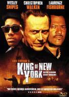 King of New York - Danish DVD movie cover (xs thumbnail)