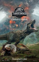 Jurassic World Fallen Kingdom - Icelandic Movie Poster (xs thumbnail)