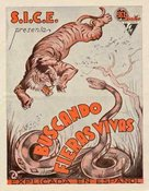 Bring 'Em Back Alive - Spanish Movie Poster (xs thumbnail)