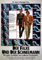 The Falcon and the Snowman - German Movie Poster (xs thumbnail)