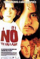 No te fallaré - Spanish Movie Poster (xs thumbnail)