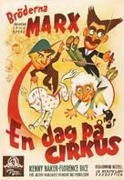At the Circus - Swedish Movie Poster (xs thumbnail)