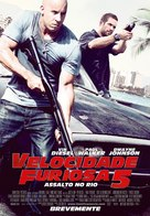 Fast Five - Portuguese Movie Poster (xs thumbnail)