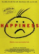 Happiness - German Movie Poster (xs thumbnail)