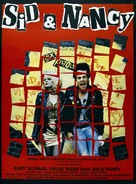 Sid and Nancy - French Movie Poster (xs thumbnail)
