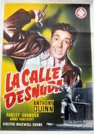 The Naked Street - Spanish Movie Poster (xs thumbnail)