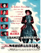 Stranger on Horseback - British Movie Poster (xs thumbnail)