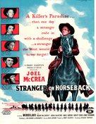 Stranger on Horseback - British Movie Poster (xs thumbnail)