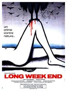 Long Weekend - French Movie Poster (xs thumbnail)